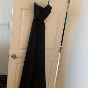 Black Melissa sweet bridesmaid dress